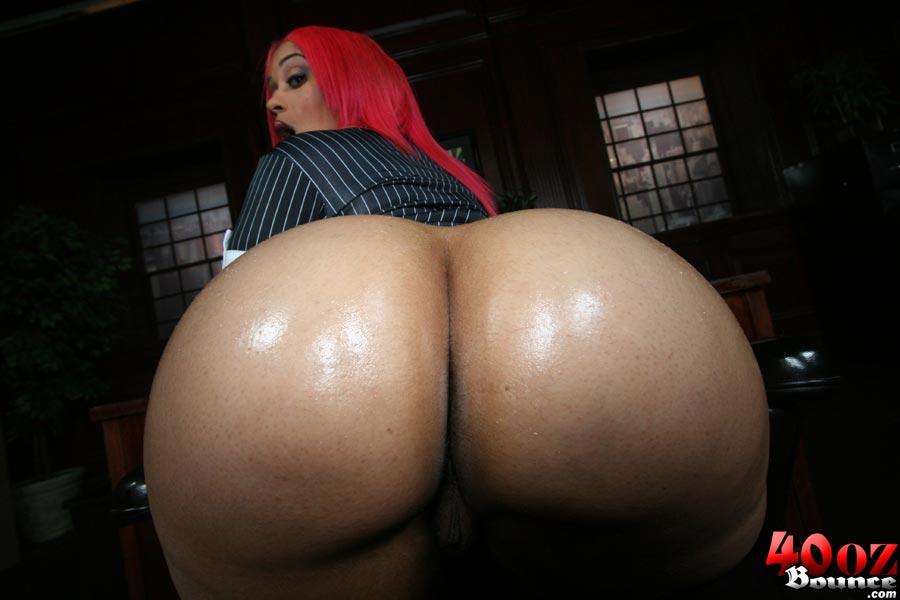 Big busty natural redhead