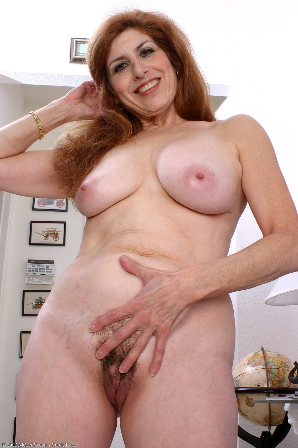 Old redhead sex video