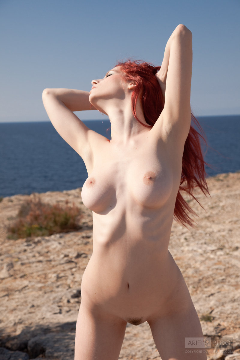 Something is. Partially nude red heads what