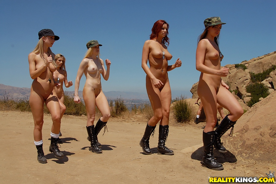 image Lesbians in boot camp