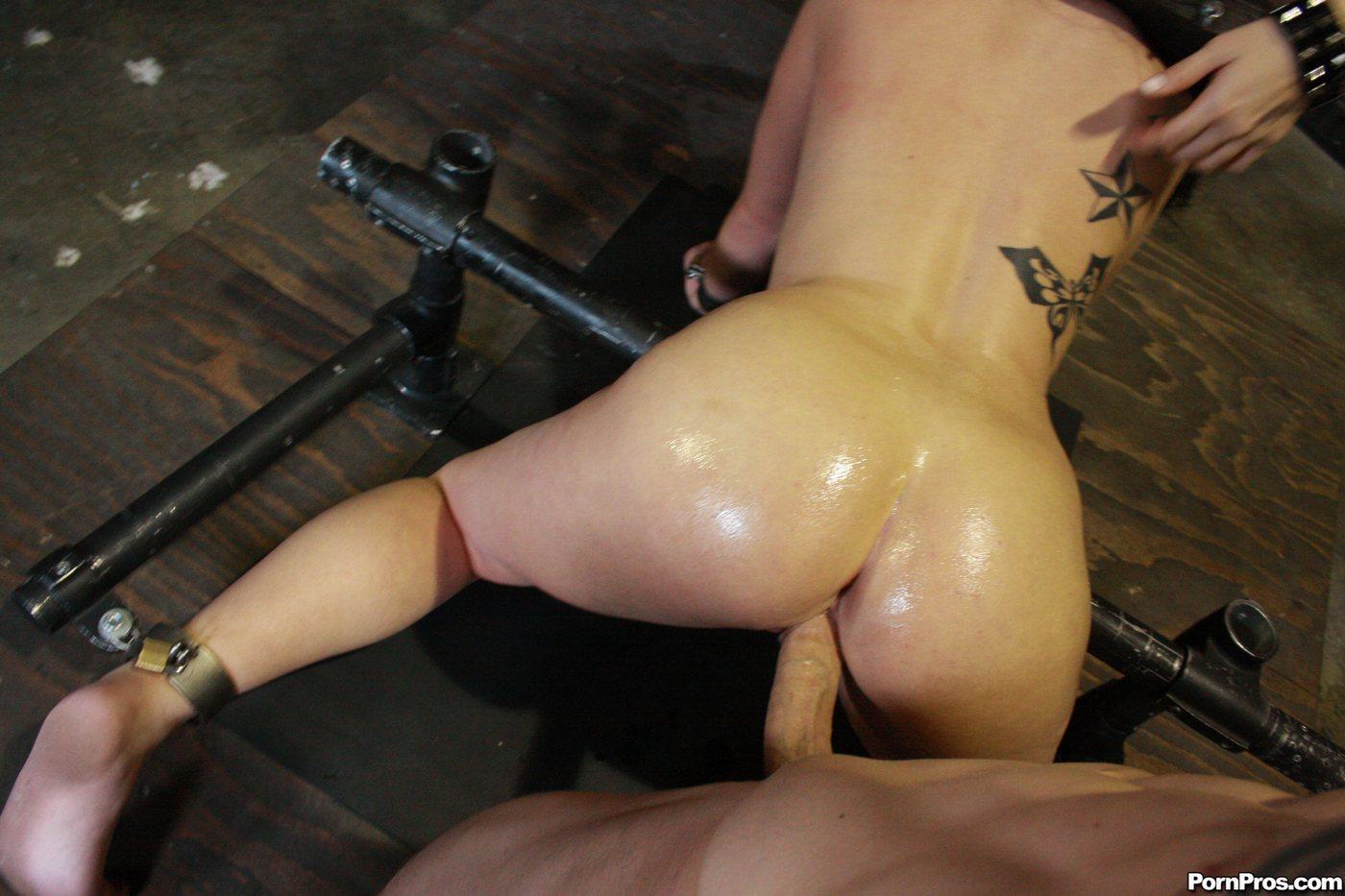Ebony girl spank