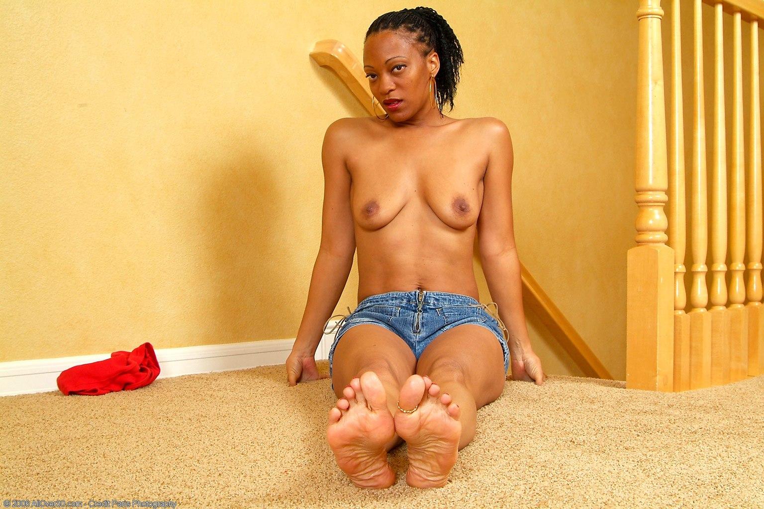 Ноги негритянки фото