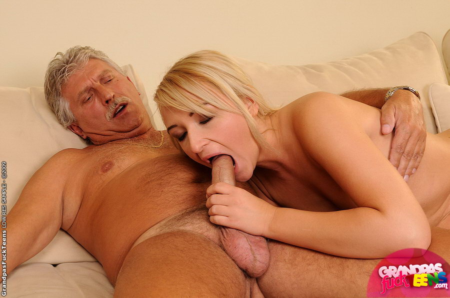fucks grandpa Angelika