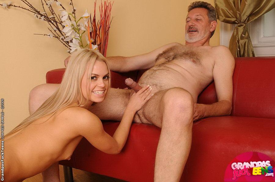 Блондинка со стариком порно 34200 фотография