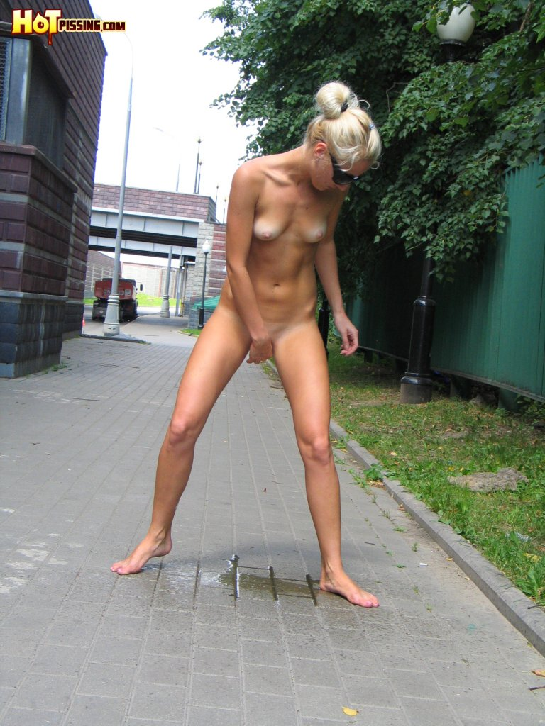 Pissing girl unknown certainly