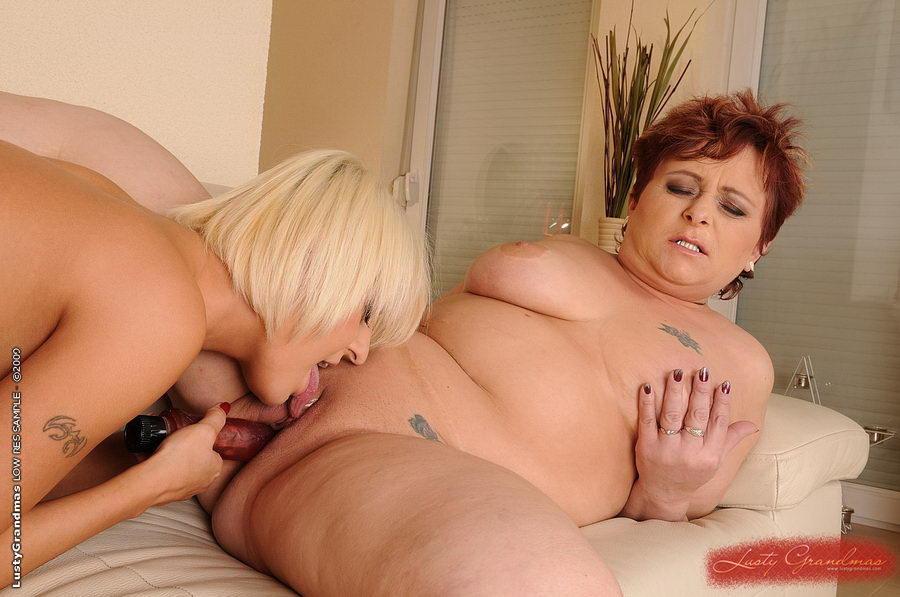 Lusty old grannies