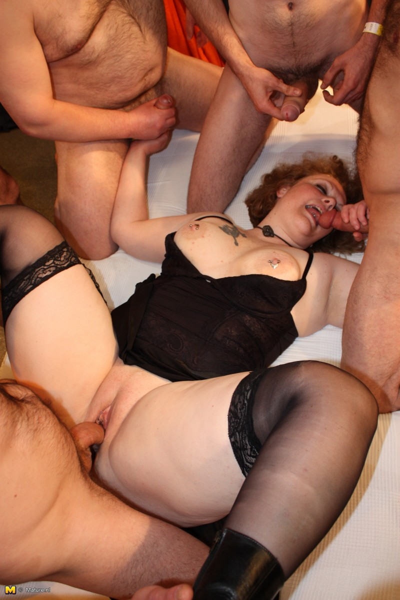 Large breasted gangbang hentia download