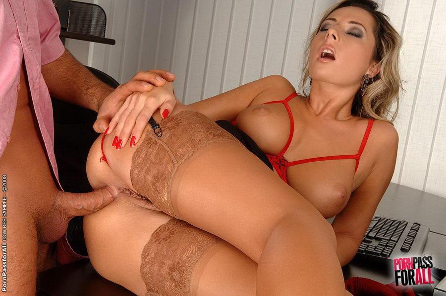 Порно фото чулки секс