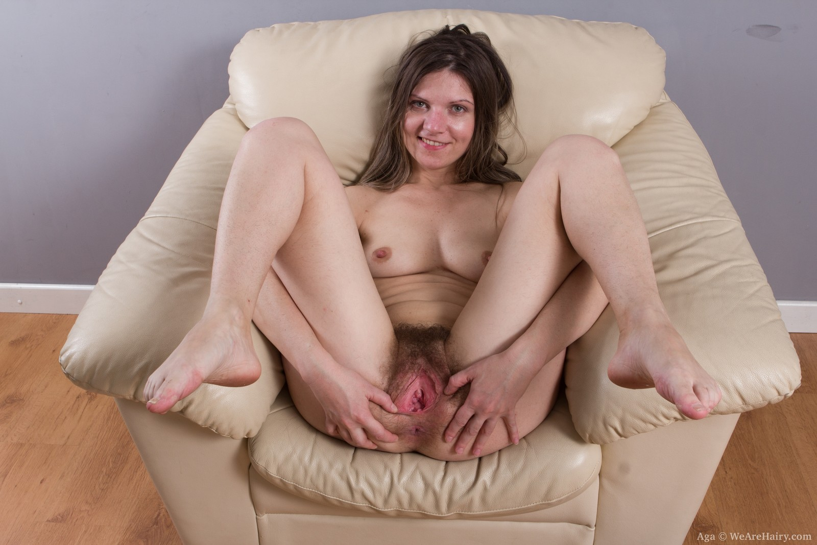 open Legs hairy wide