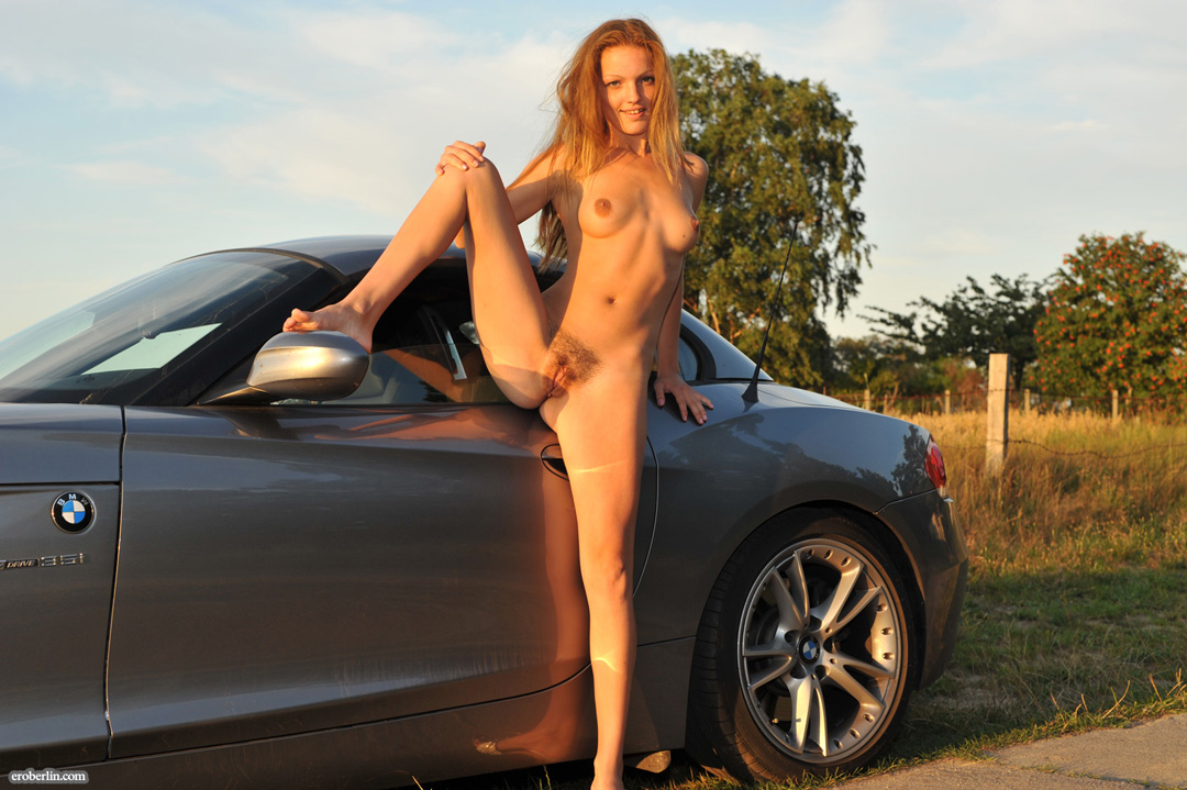 naked girls in sports cars