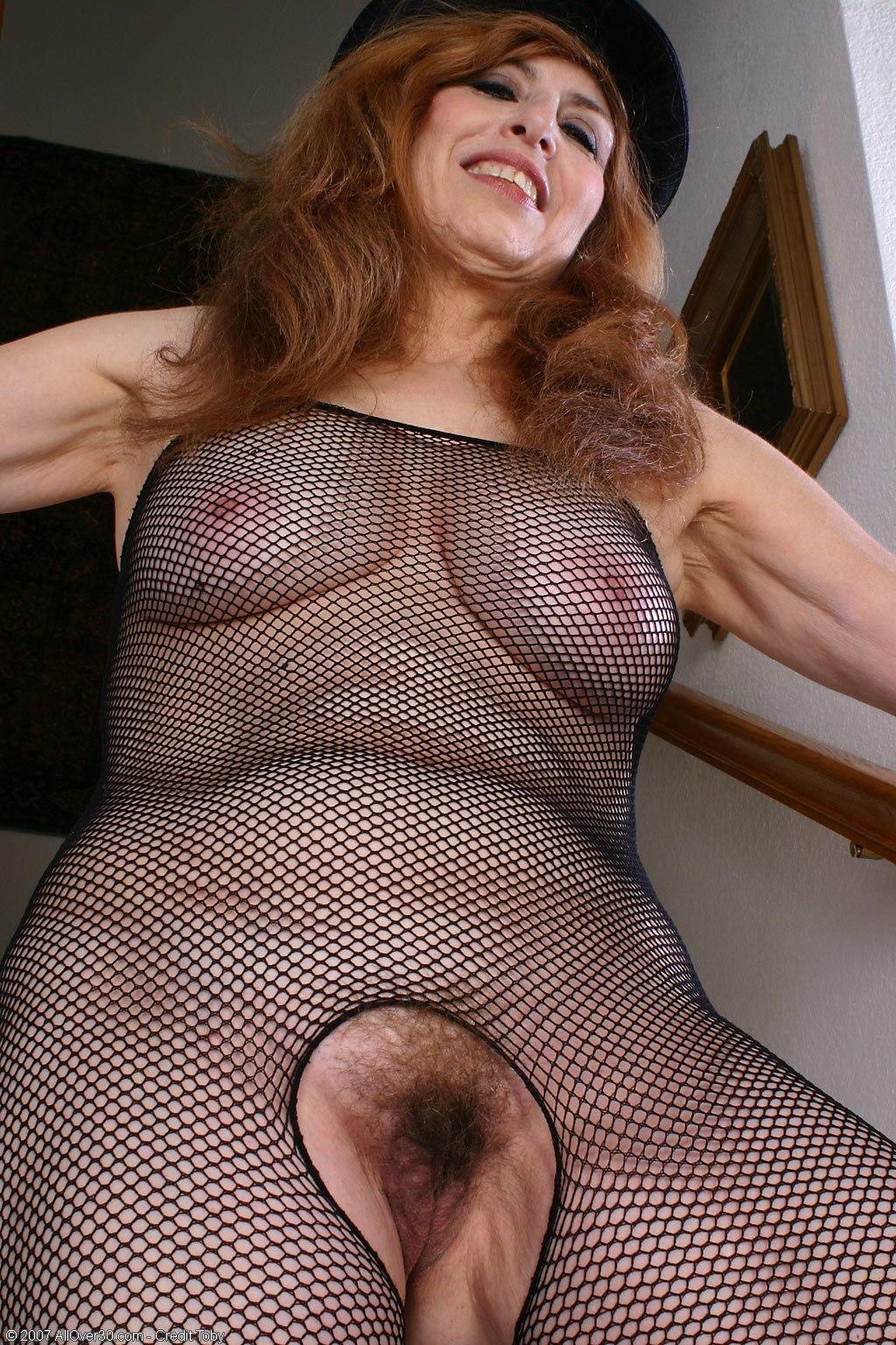 Sexy nadine granny