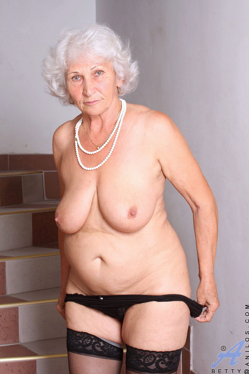 Gray hair mature nude grannies seems