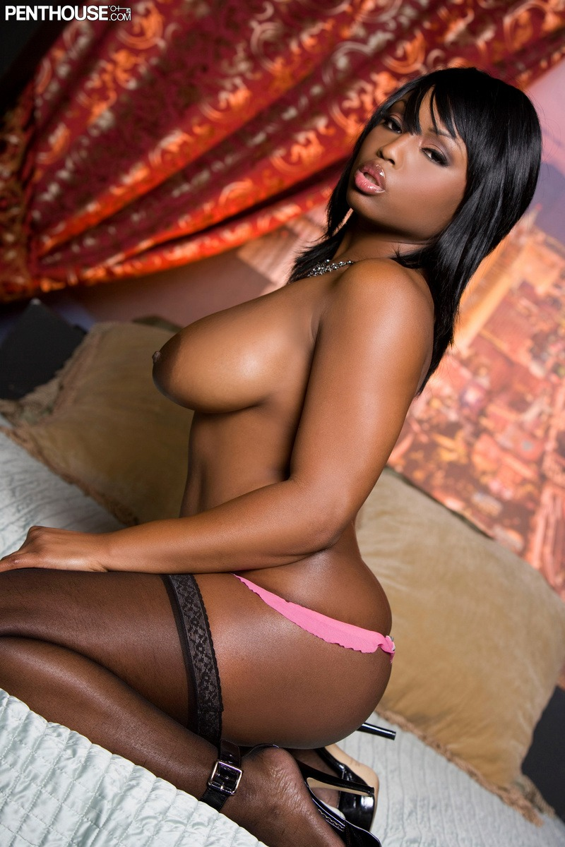 Black Teen Stockings