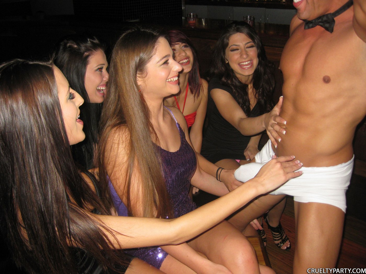 Amateur college party girls handjob think, that