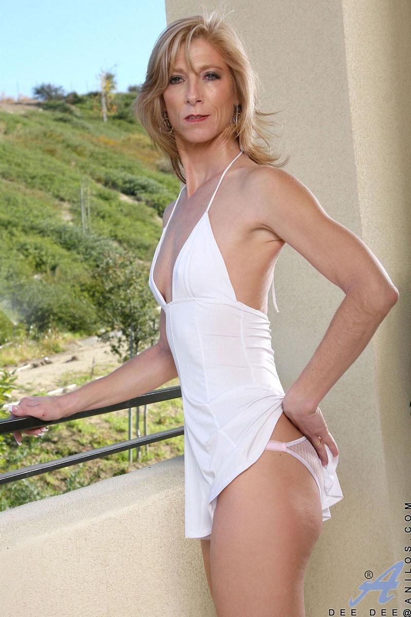 Skinny milf in sheer panty mature nude agree