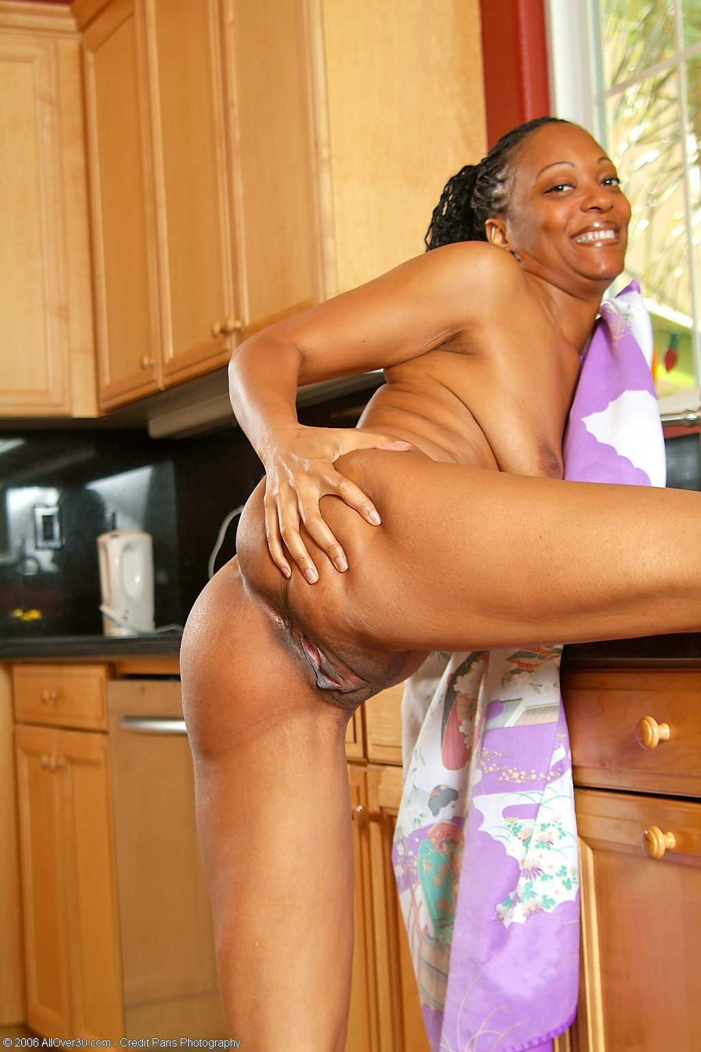 Opinion you black girl naked in kitchen think, that