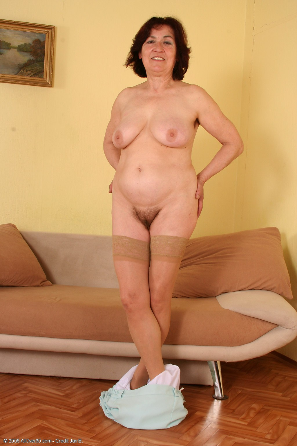 Older Women Wearing Pantyhose