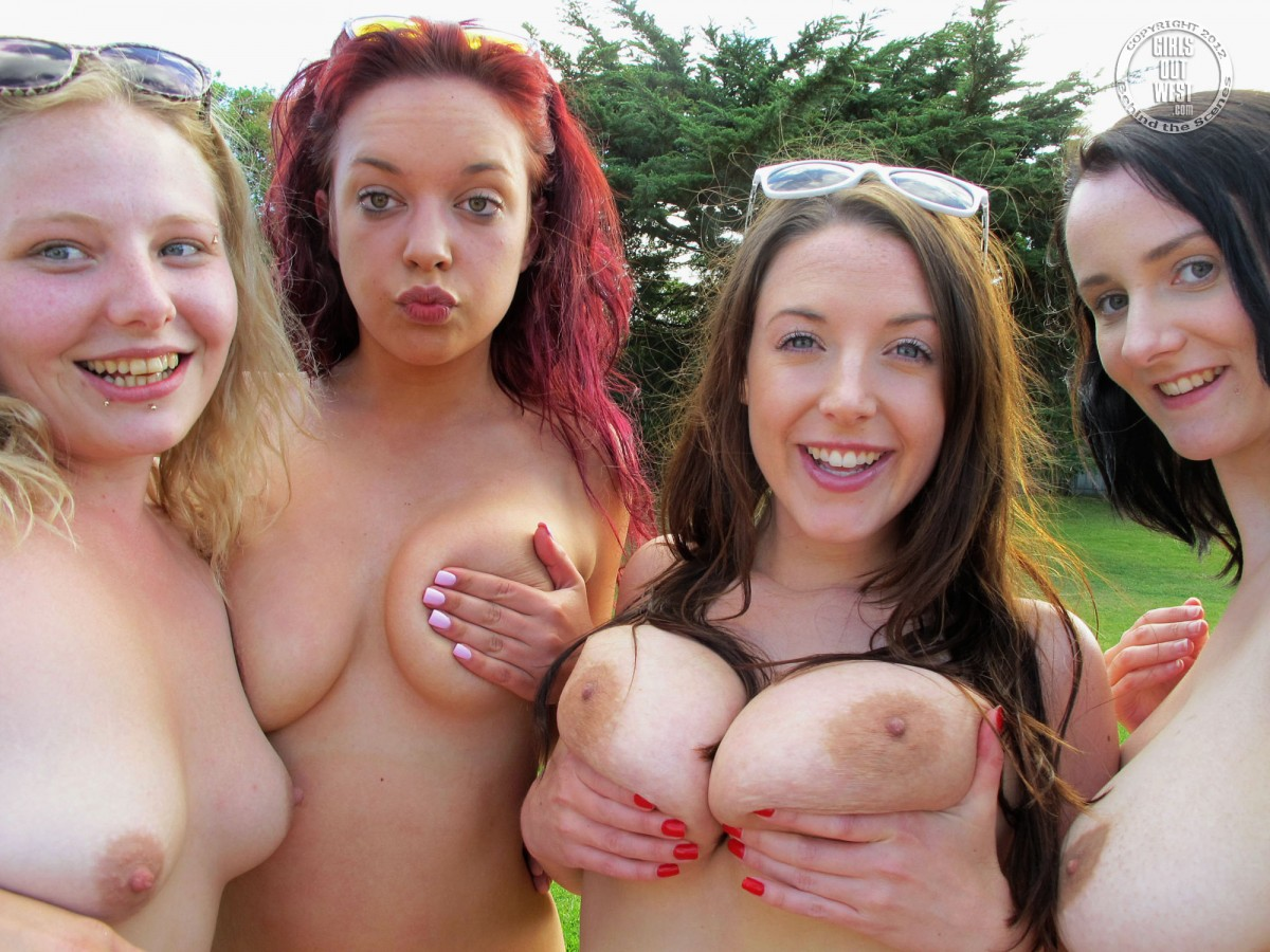Girls Out West Orgy