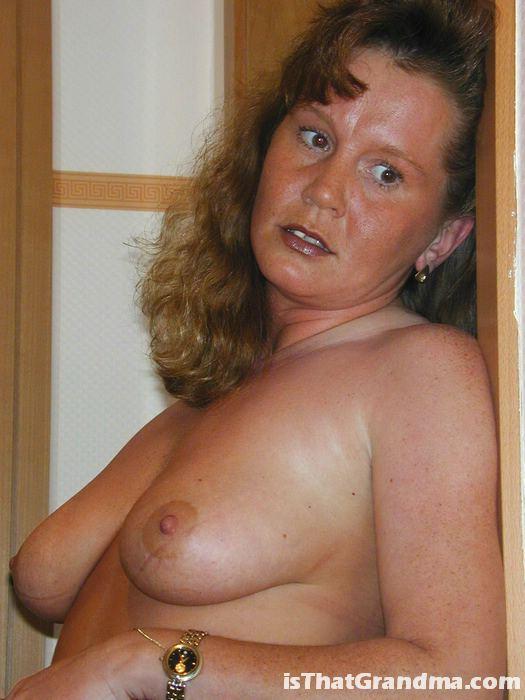 Posing gals grandma