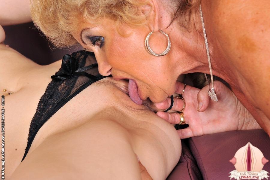 Старая лесбиянка в платке