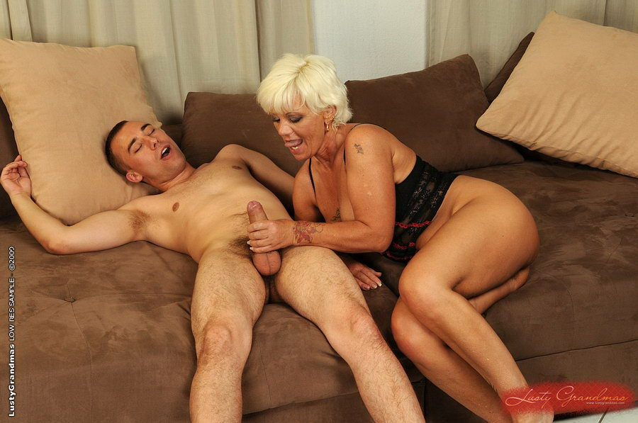 Busty mature women caught fucking young guy
