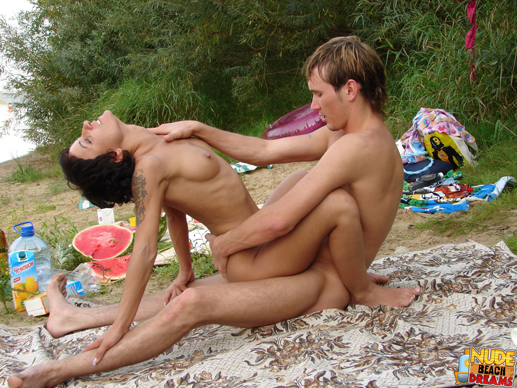 Teen sex love on beach topic Your