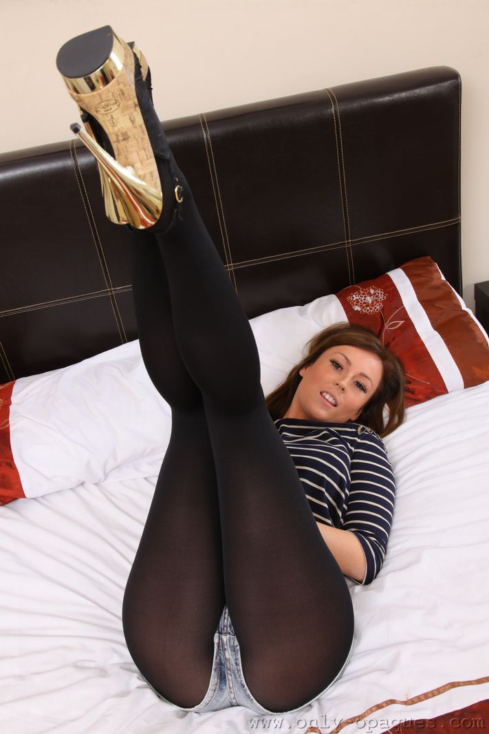 Pantyhose only opaque