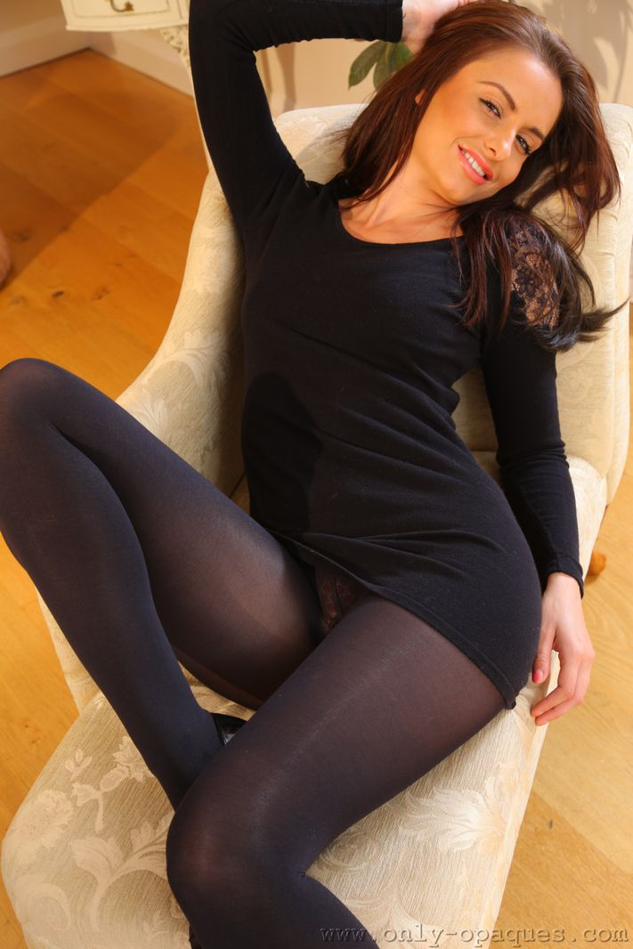 Pantyhose girls in