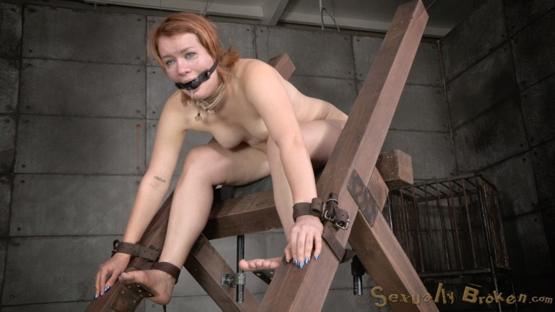 bondage sex Claire and anal robbins