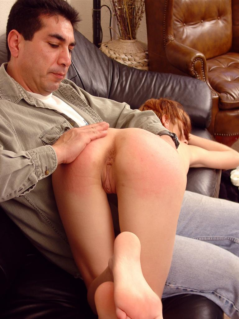 Ass Slapped Babe-4537