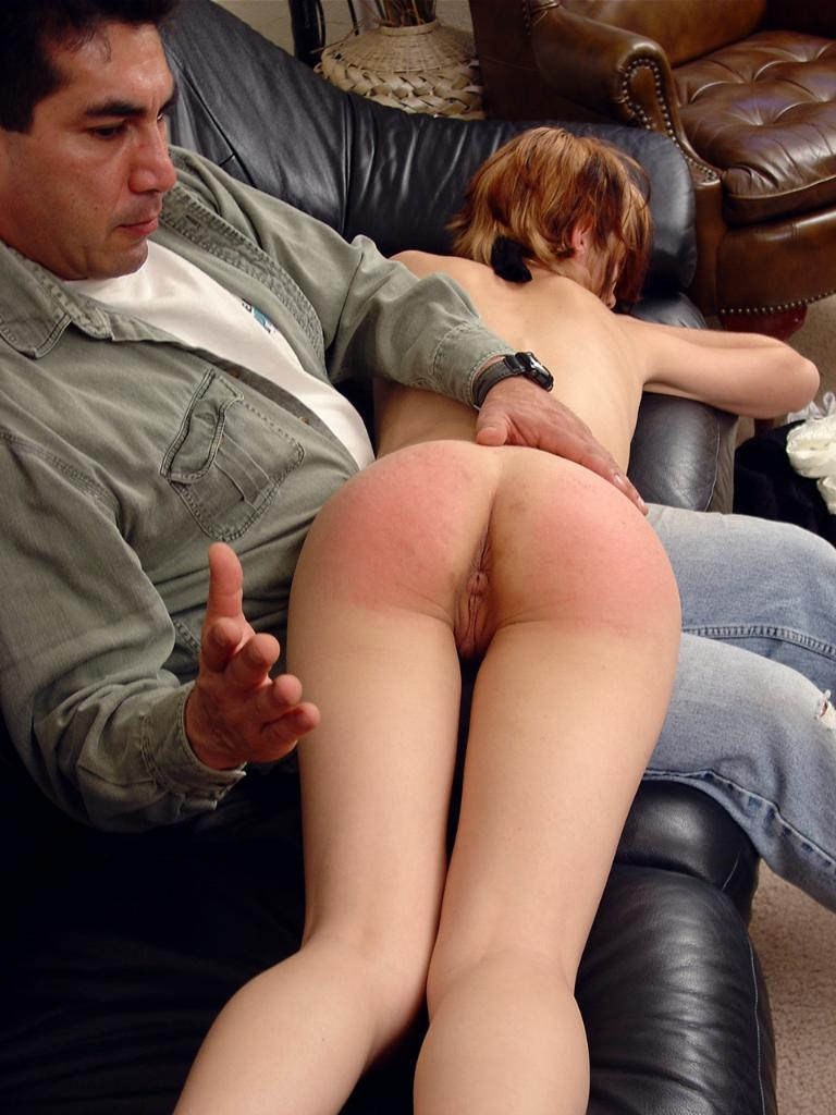 Theme Girl being spanked naked