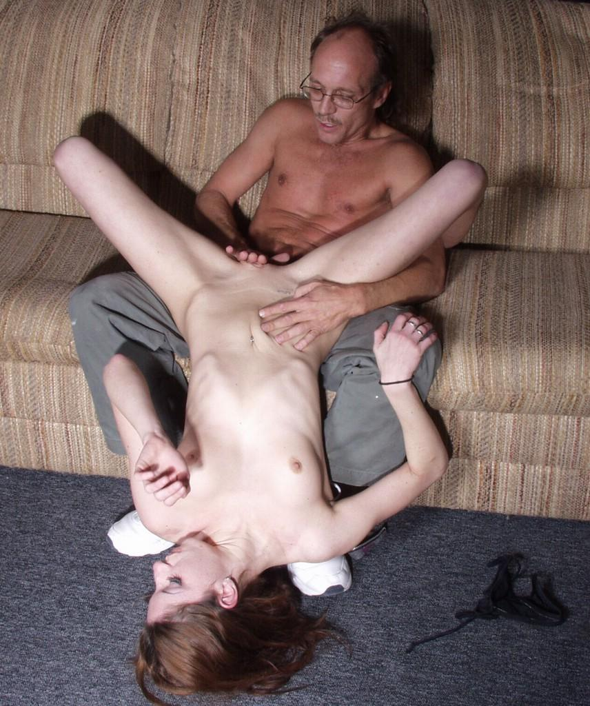 Teen pussy spanking