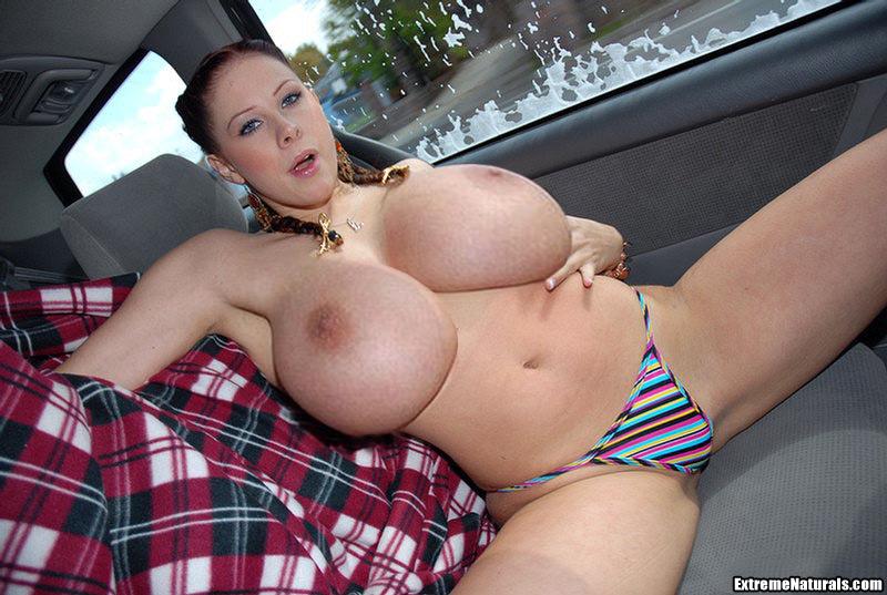 Порно в машине огромные сиськи онлайн #15