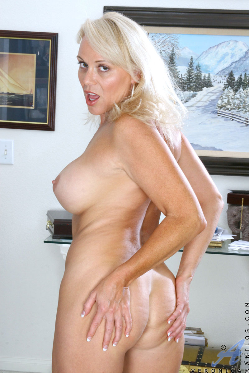 Mature blonde cougar veronica