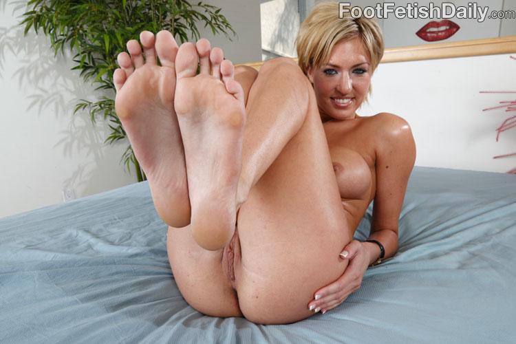 White feet porn